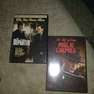 Dvds, 2in1, only for $5!