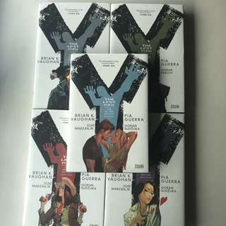 Y the Last Man hardcover set
