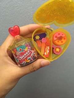 Food Erasers set