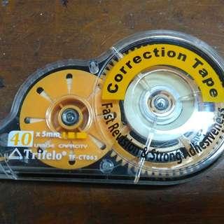 Correction tape trifelo