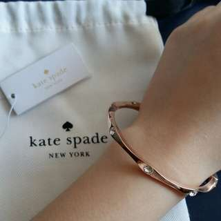 90% New Kate Spade Bracelet Rose Gold