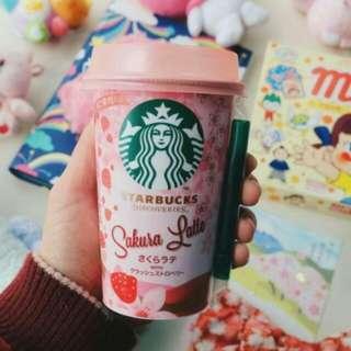 [OPEN PO] Starbucks Sakura Latte