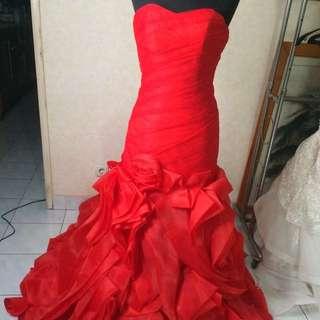 Saleeee prewed gown