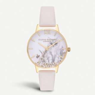 Olivia Burton Illustrated Animals Gold-Plated Watch