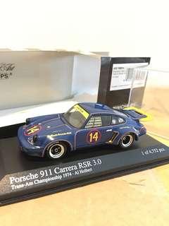 1/43 Porsche 911 Carerra RSR 3.0 #14. 1974. Minichamps
