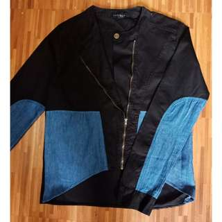 Forum cropped top long sleeve