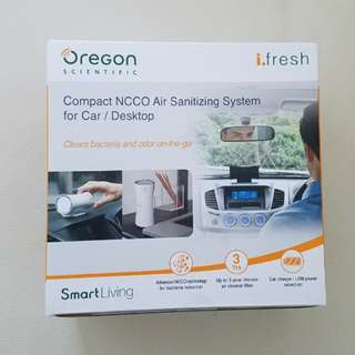Oregon scientific ifresh 空氣抗菌器
