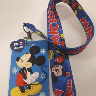 BN Mickey mouse lanyard