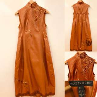 Shiatzy Chen handmade emborderies dress size F38