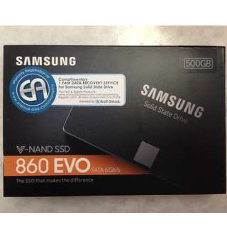 (Free Shipping) Samsung SSD 250GB EVO 860 (New model after EVO 850)