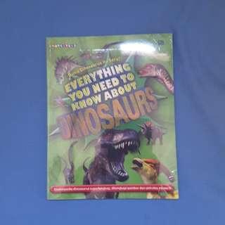 Dinosaurus masih segel
