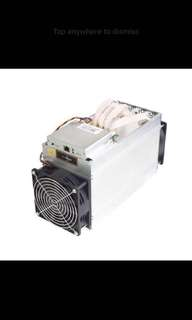 Antminer L3+ Miner with PSU