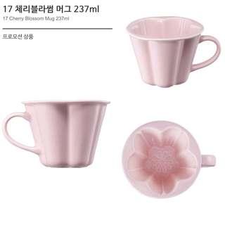 2017韓國星巴克櫻花馬克杯237ml