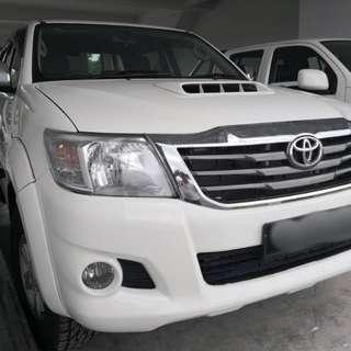 Toyota hilux g auto 2012yrs 3.0cc