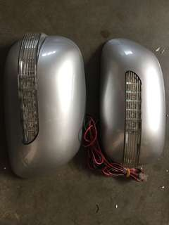Vios altis avanza 1st mode side mirror with led signal