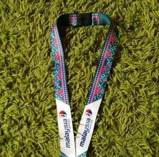 High quality Malaysia Airlines Lanyard