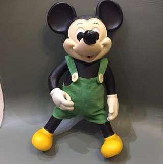 1970 年代 Disney 正版古董米奇 Made in Taiwan 35cm高 $980