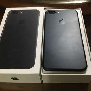 iPhone 7 Plus 消光黑 9.9成新 128G