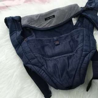 Denim Baby Carrier From Japan