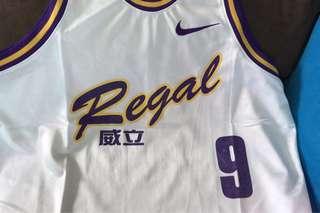 香港甲一威立籃球隊落場版球衣
