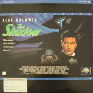Laser Disc Movie - M16 The Shadow