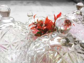 Glass Container (Crystal Style)