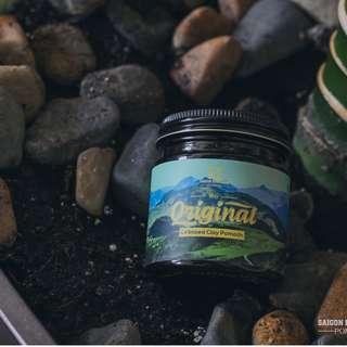Vegan handmade - Saigon Hustlers Pomade ORIGINAL- 4oz - MEDIUM HOLD Undercut hair wax gel