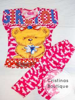 Bear Sleepwear Set