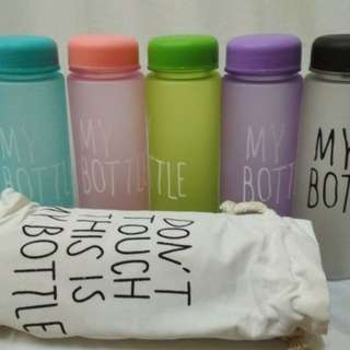 My bottle warna with pouch