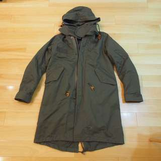 Collection point hare綠色漁夫褸Jacket