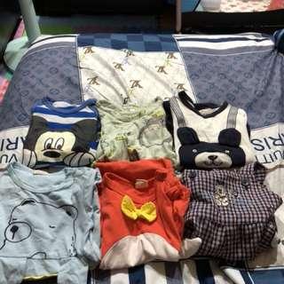 Baby衣服 尺寸1號-3號 夏天款
