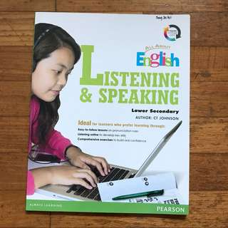ALL ABOUT ENGLISH LOWER SECONDARY LISTENING & SPEAKING