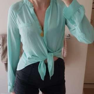 Bardot tailored shirt