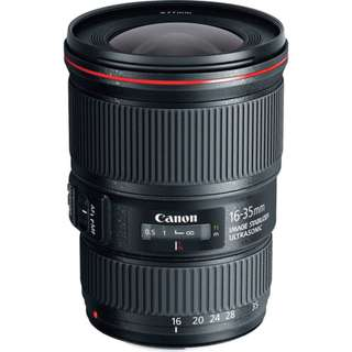 EF 16-35mm f/4L IS USM Lens Canon