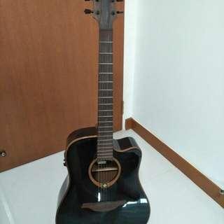 LAG acoustic guitar Dreadnought
