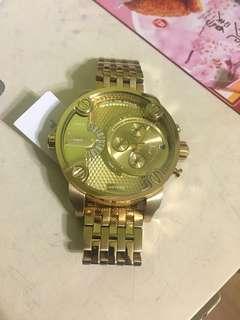 Diesel Golden Men's Watch DZ7287