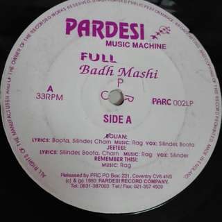 Badh Mashi vinyl LP without cover