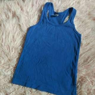 Zara tank top blue