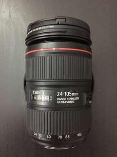 Canon 24-105mm f4L ii USM