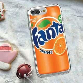 Fanta Pattern Soft iphone 4 case