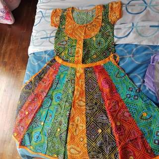 Indian design skirt and blouse