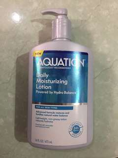 Aquation Hydrating Daily Moisturizing Lotion Powered byHhydrobalance 16oz/473mL