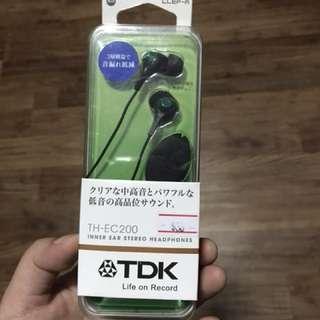 (REDUCED) TDK TH-EC200 Clef R Inner Earphones