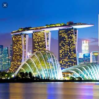 Marina Bay Sands. Deluxe room. April