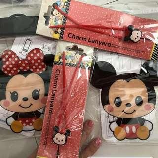 迪士尼☆米奇&米妮☆手機防水保護套