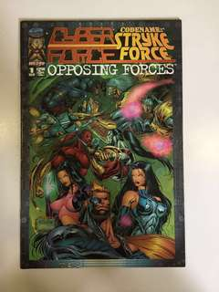 Cyber Force  .- stryke force opposing forces , Introductory issue + 10 more classics