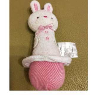 麗嬰房兔子手搖鈴