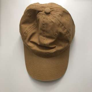 駝色 鴨舌帽 老帽 棒球帽