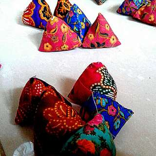 Batik five stones Assorted mixed pack  Five Stones Kampong Games  nyonya peranakan batik inspired designs