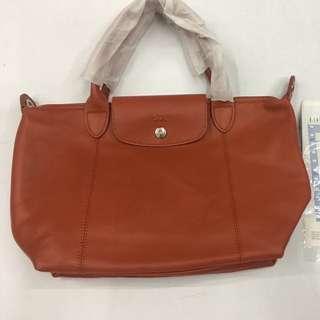 Brandnew! Authentic Longchamp Lamskin Leather Bag (small)